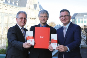 Bernd Behrendt, Dr. Frank Neveling und Frank Dehnke